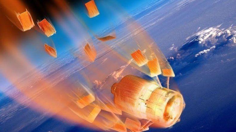 Chubut está en el camino de una estación espacial que desciende sin control