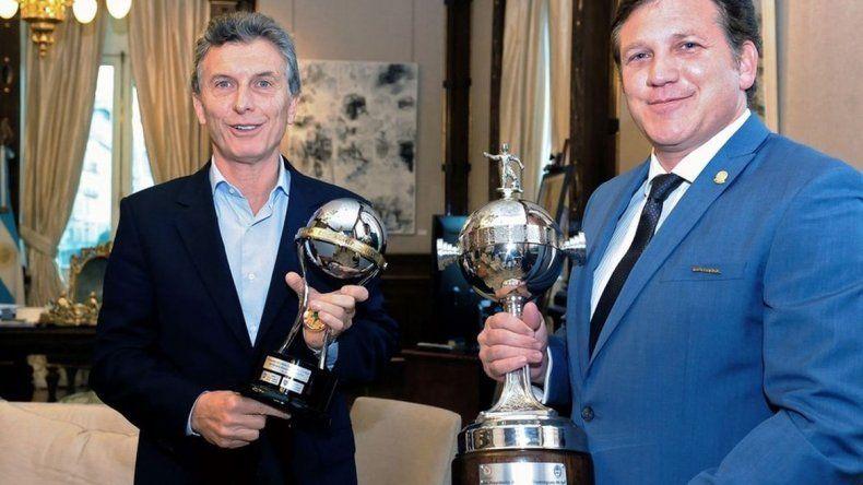 La Conmebol premiará al presidente Mauricio Macri