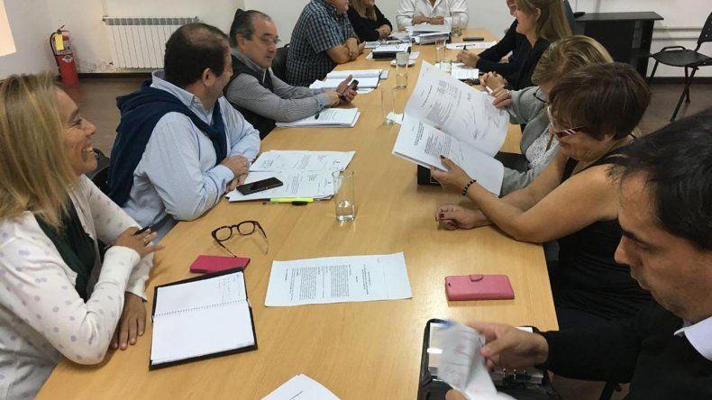 El plenario que los concejales realizaron ayer para tratar el pedido de endeudamiento municipal.