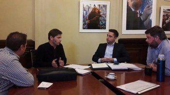 Caridi se reunió con Kicillof para asesorarse sobre el bono