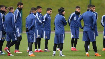 argentina se enfrenta esta tarde contra italia