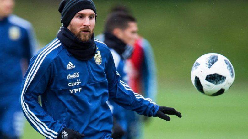 Messi está en duda para jugar contra Italia