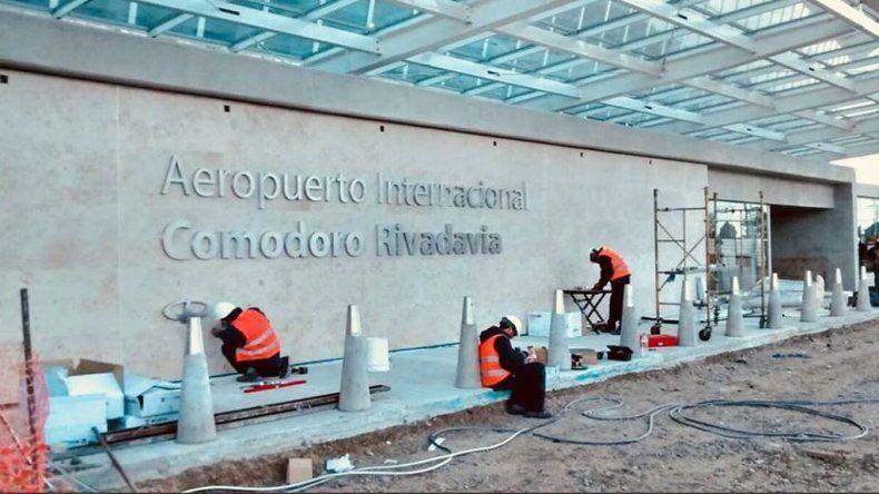 El nuevo Aeropuerto de Comodoro va tomando forma