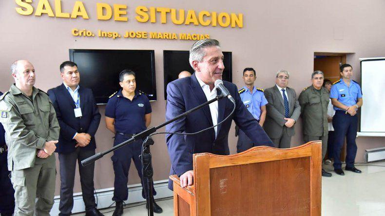 Arcioni brindó un reconocimiento a la Policía del Chubut