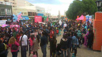 Se realizó una marcha contra el aborto