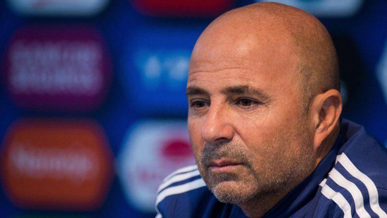 Jorge Sampaoli destacó el nivel colectivo de la selección argentina en la victoria frente a Italia.