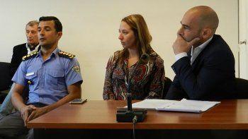 No quiero que solo vengan a dar la cara les dijo la juez de ejecución  Patricia Reyes al jefe de Policía, Miguel Gómez y al secretario de  Seguridad, Federico Massoni.