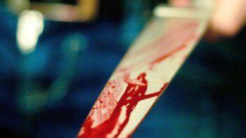 asesinaron a un joven de un puntazo en el cuello