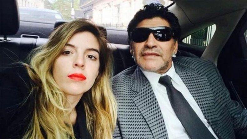 Peligra la presencia de Diego Maradona en la fiesta de casamiento de su hija