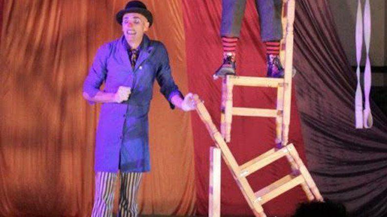 El circo será protagonista en Rada Tilly cuando hoy se lleve a cabo una función de El Círculo Circo.
