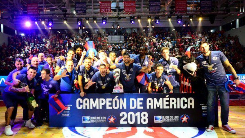 San Lorenzo campeón de la Libertadores del básquetbol
