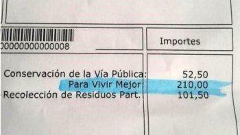 El intendente de Las Heras cobra un impuesto Para Vivir Mejor