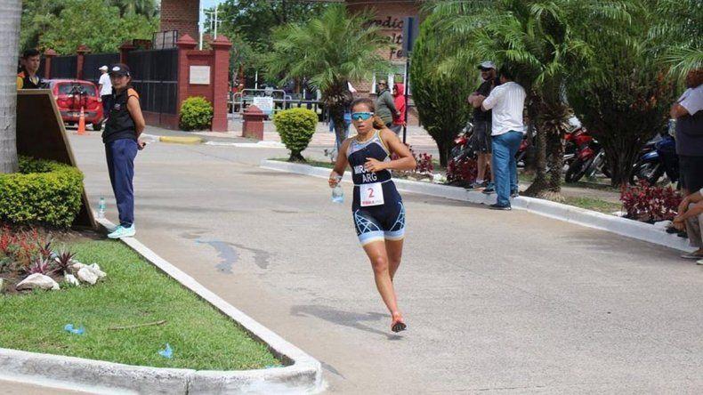 Moira Miranda clasificó a los XI Juegos Odesur Cochabamba 2018