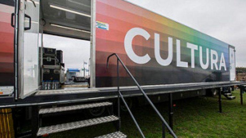 El Camión de Cultura pasará por Chubut con Movida y Tropical en gira