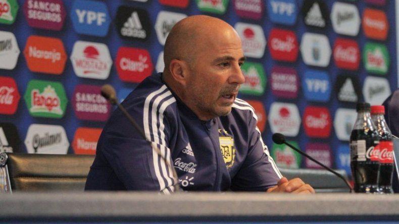Jorge Sampaoli, tras el papelón: me da pena el resultado, España nos abofeteó