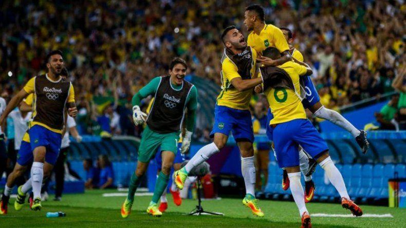 Brasil venció a Alemania por 1 a 0