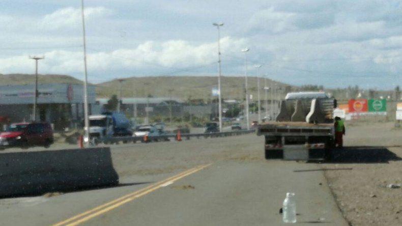 Por trabajos a la altura de Arroyo La Mata piden transitar con precaución