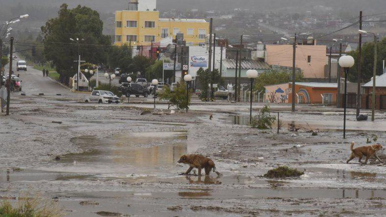 El temporal en videos: dramáticas imágenes