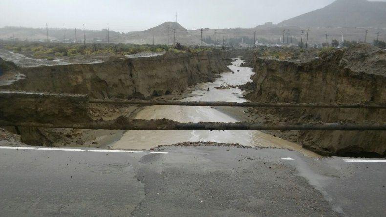 Algunas de las fotos más impactantes que dejó el temporal