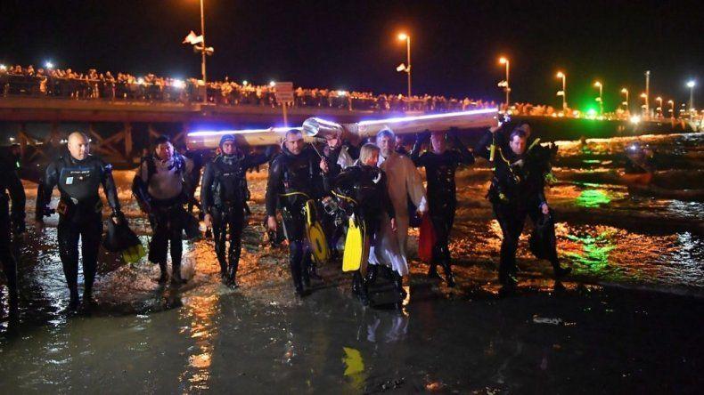 Unos 30 buzos participarán del Vía Crucis Submarino