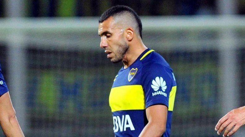 Carlos Tevez admitió que le dolió perder con River en la final de la Supercopa Argentina.