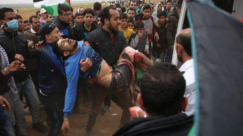 Cinco palestinos muertos y 356 heridos en incidentes con efectivos israelíes