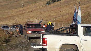 Los mineros en huelga bloquearon el jueves durante varias horas dos pasos fronterizos internacionales en proximidades de Río Turbio y 28 de Noviembre.