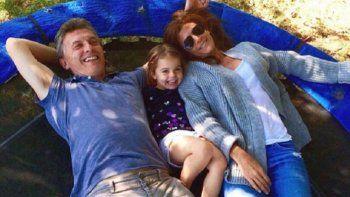 Mauricio Macri disfruta otra vez de unos días de descanso junto a su familia en Chapadmalal.