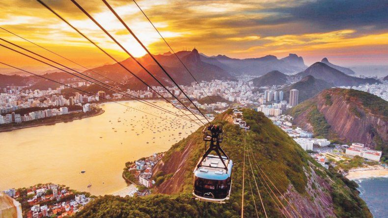 Brasil, 40% menos  en alojamiento