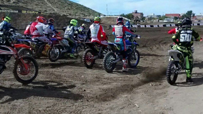 El motocross cumplirá hoy la segunda fecha del Campeonato Argentino en el circuito Jorge Alí Ambros de Rada Tilly.