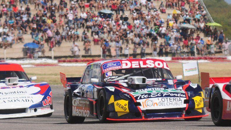 Marcelo Agrelo se ubicó cuarto en la primera serie del TC Pista ayer en el autódromo Rosendo Hernández de la provincia de San Luis.