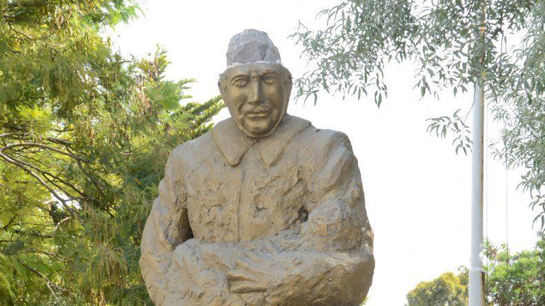 El monumento a los Bomberos Voluntarios