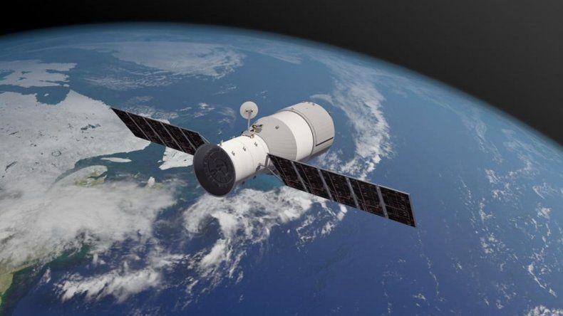 La estación espacial china cayó en el Océano Pacífico