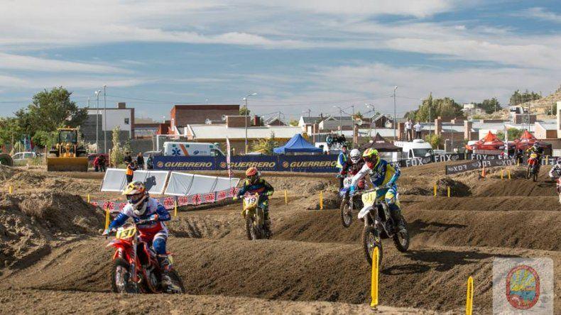 Rada Tilly fue sede el último fin de semana de la segunda fecha del Campeonato Argentino de Motocross.