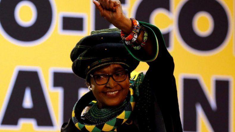 Winnie Mandela falleció ayer a los 81 años.