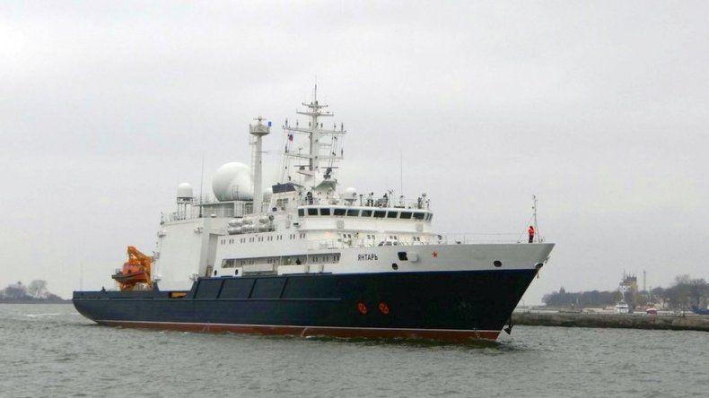 El buque ruso Yantar abandonó  la búsqueda del ARA San Juan