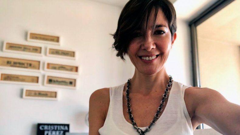 Con una romántica foto, Cristina Pérez presentó a su novio