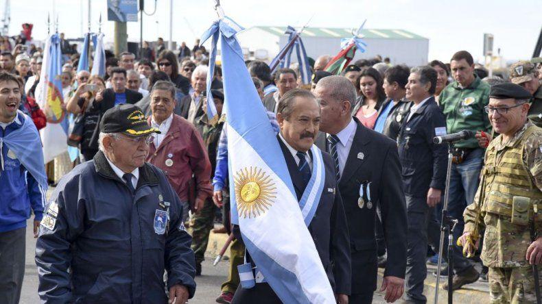 El Día del Veterano y los Caídos en la Guerra de Malvinas en Comodoro