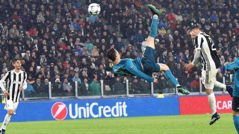 El Real Madrid vapuleó a Juventus de la mano de Ronaldo