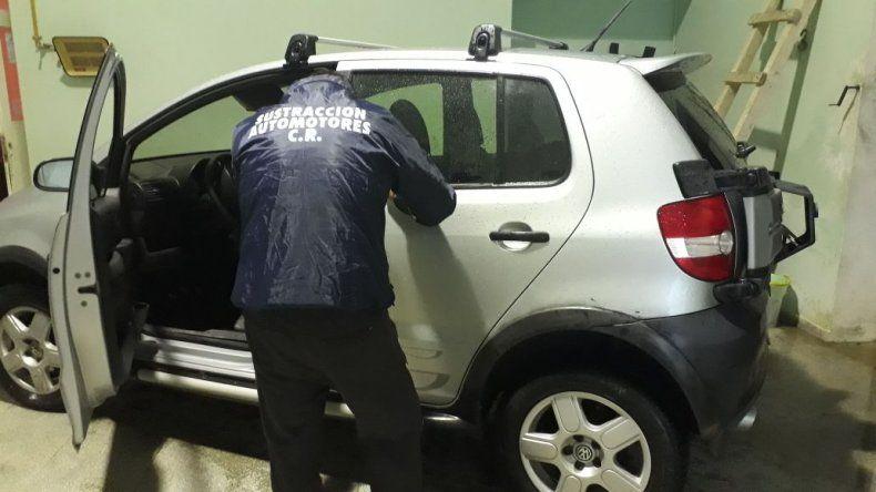 Secuestraron un vehículo que tenía pedido de captura