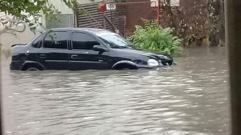 Un temporal golpea a Río Gallegos y ya hay evacuados
