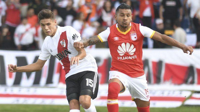 River busca la victoria frente a Independiente Santa Fe.
