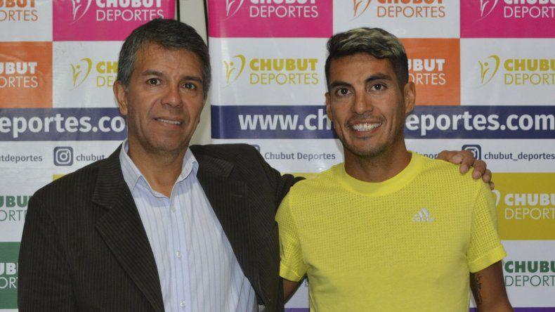 El gerente general de Chubut Deportes