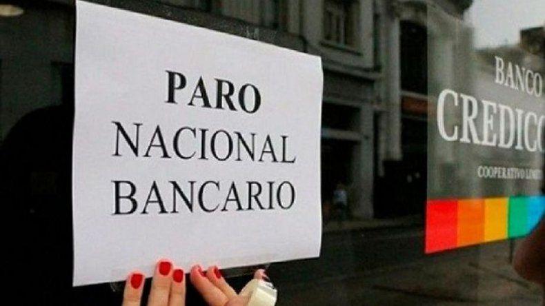 La Asociación Bancaria ratificó el paro de mañana