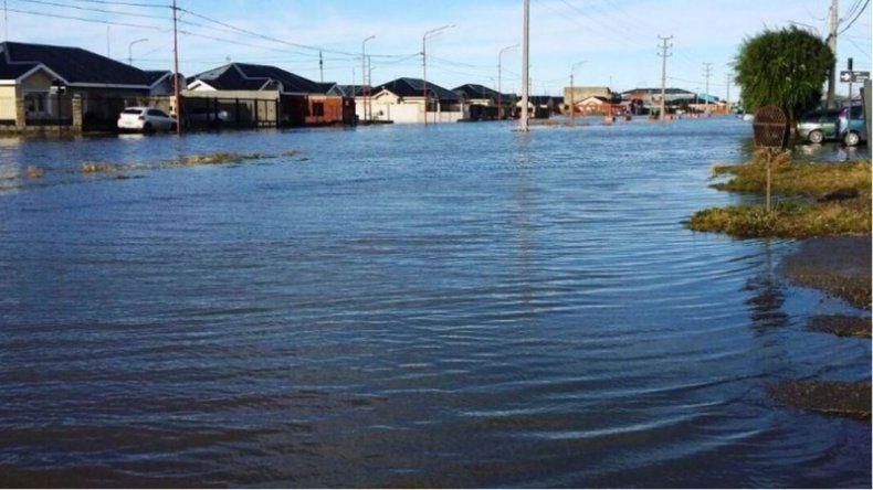 Llovió más de 58 milímetros en Río Gallegos: familias evacuadas