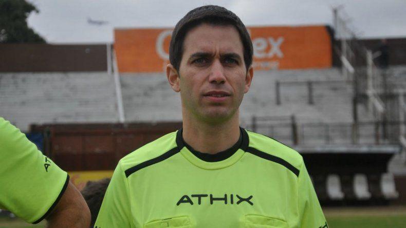 Se agrava la situación del árbitro Martín Bustos