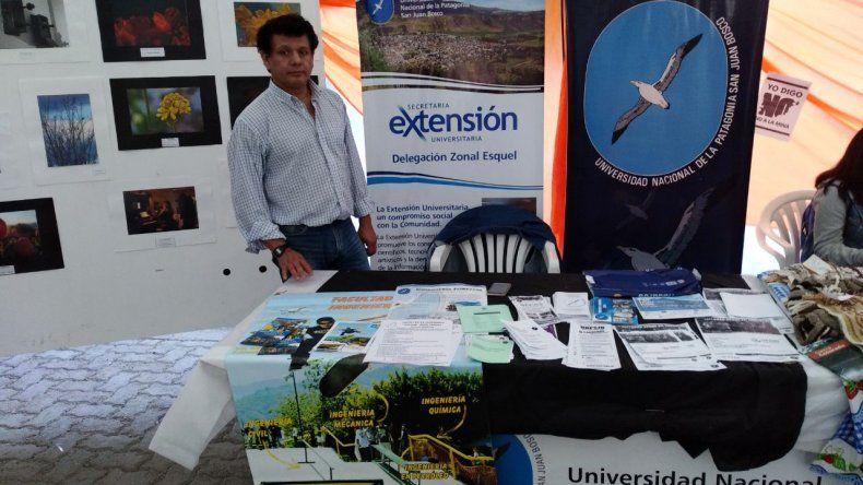 La Universidad estuvo presente en la Expo Feria de Trevelin