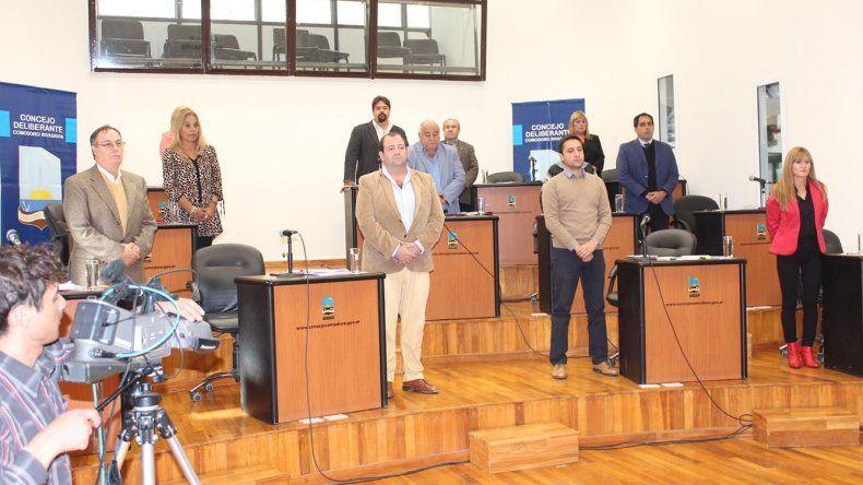 En el Concejo Deliberante se realizó un minuto de silencio por la muerte del comisario Néstor Chávez.