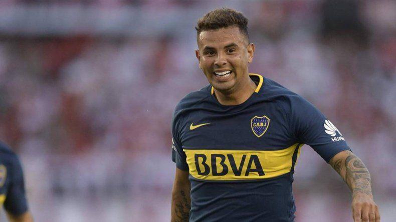 El colombiano Edwin Cardona reaparecerá esta noche en la formación de Boca Juniors.