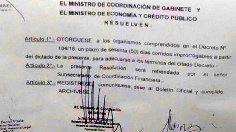 Por decreto frenaron la eliminación de horas cátedras y guardias